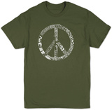 Peace, Love & Music Tshirts