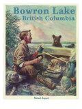 Bowron Lake, British Columbia - Camping Scene, c.2009 Prints by  Lantern Press