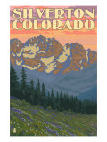 Silverton, Colorado - Spring Flowers, c.2009 Poster by  Lantern Press