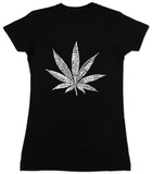 Women's: The Leaf Camiseta