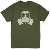 Gas Mask T-shirts