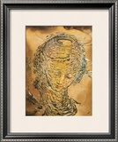 Raphaelesque Head Exploded Prints by Salvador Dalí