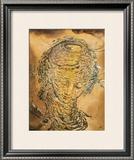 Raphaelesque Head Exploded Prints by Salvador Dalí