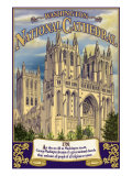 National Cathedral - Washington, Dc, c.2009 Posters by Lantern Press 