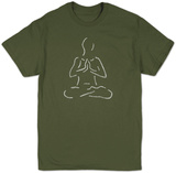 Yoga Poses T-shirts