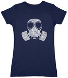Juniors: Gas Mask T-Shirt