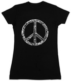 Juniors: Peace 77 T-shirts
