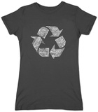 Juniors: Recycle Symbol Maglietta