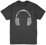 Headphones T-shirts