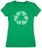 Women's: Recycle Symbol T-Shirt