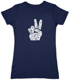 Juniors: Give Peace A Chance Shirts