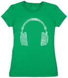 Juniors: Headphones T-Shirt