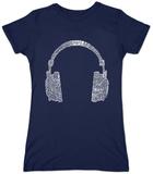 Juniors: Headphones T-Shirts