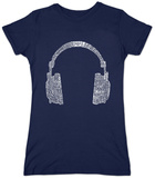 Women's: Headphones T-Shirts