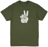Date una possibilità alla pace T-Shirts