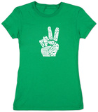 Juniors: Give Peace A Chance T-Shirt