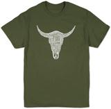 Cow Skull Tshirts