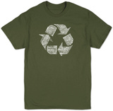 Recycle Symbol T-skjorte