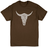 Cow Skull T-Shirts