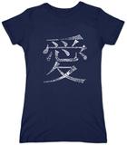 Juniors: Chinese Symbol For Love Koszulka