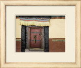 Door, Hemis Gompa (Monastery), Hemis, Ladakh, Indian Himalaya, India Art by Jochen Schlenker