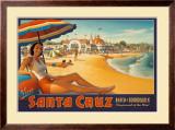 Visit Santa Cruz Prints by Kerne Erickson