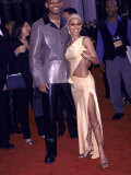 Married Actors Will Smith and Jada Pinkett at the Grammy Awards Fototryk i hj kvalitet af Mirek Towski