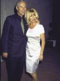 Manager Alan Hamel and Wife, Actress Suzanne Somers Fototryk i høj kvalitet af Mirek Towski