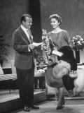 Host Jack Paar on His Program, the
