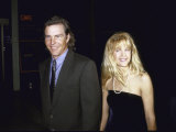 Actors Dennis Quaid and Meg Ryan Premium fotoprint