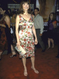 Actress Victoria Principal at Film Premiere of