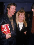 Actors Dennis Quaid and Meg Ryan Lmina fotogrfica de primera calidad