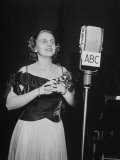 Singer Margaret Truman, Photographic Print