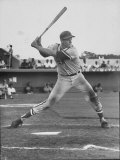 Baseball Player Frank Howard During Winter League Season Fototryk i høj kvalitet