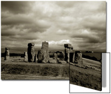 Stonehenge Poster by Judith Bartos