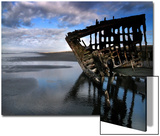 Shipwreck at Dawn Prints by Jody Miller
