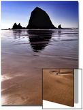 Haystack Rock at Noon Posters by Jody Miller