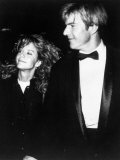 Actor Dennis Quaid with Actress Meg Ryan at American Film Institute Life Achievement Awards Lmina fotogrfica de primera calidad por Kevin Winter