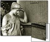 Cemetery Statues, no. 6 Prints by Katrin Adam