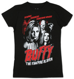 Juniors: Buffy The Vampire Slayer - Cult Poster T-Shirt