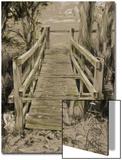 Thornham Bridge Sketch Poster av Tim Kahane