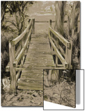 Thornham Bridge Sketch Print by Tim Kahane