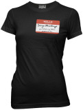 Juniors: The Princess Bride - Name Tag T-Shirt