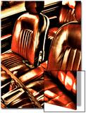 Classic Car Interior in Copper Prints by Paula Iannuzzi