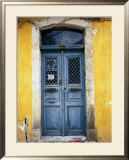 Doorway in Old Venetian Quarter, Hania, Crete, Greece Poster by Diana Mayfield
