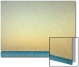 Sailboats under Pearl Sky Posters av Robert Cattan