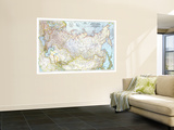 1944 Union of Soviet Socialist Republics 1938-1944 Map Wall Mural