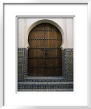 Door in the Quartier Des Andalous, Medina, Fes El Bali, Fez, Morocco, North Africa, Africa Posters by Bruno Morandi
