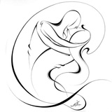 United Couple VIII Print by Alijan Alijanpour