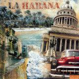 La Habana, Cuba I Kunst von John Clarke